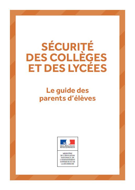 Sécurité des collèges et des lycées
